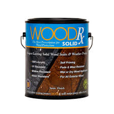 woodrx 1 gal hunter green solid wood stain and sealer 600641
