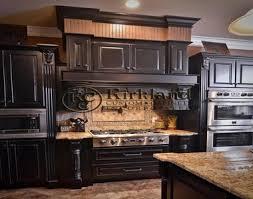 kitchen brown distressed kitchen cabinets kitchen cabinets black
