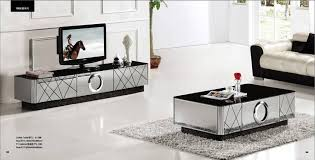 Mirror Living Room Tables Modern Gray Mirror Modern Furniture Coffee Table And Tv Cabinet