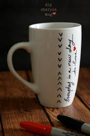 The Best Coffee Mugs Made By Me Sharpie Mugs Craft Gift And Coffee