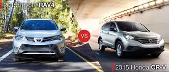 toyota rav vs honda crv compare the 2015 toyota rav4 vs the honda cr v in