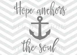 Anchor For The Soul Etsy - anchor clipart hope pencil and in color anchor clipart hope
