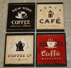 kitchen wall plaques wall decor plaques coffee themed kitchen wall decor 4 coffee cafe