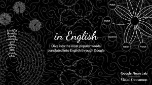 beautiful in english by visual cinnamon and google news lab