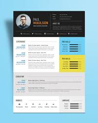 Psd Resume Template Modern Resume Templates Free Word Pages Modern Res Peppapp
