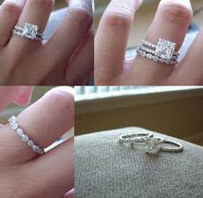 square engagement rings with band engagement ring wedding band then ring for child jewelry