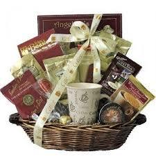 Coffee Gift Basket Coffee Holiday Gift Basket Corporate Coffee Gift Basket