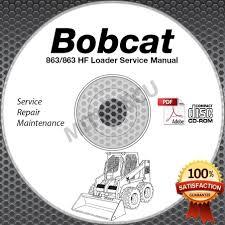 28 863 bobcat skid steer shop service repair manual pdf 64727