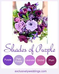 Purple Color Shades 25 Gorgeous Shades Of Purple Ideas On Pinterest Purple Wedding