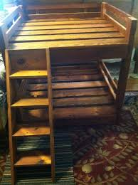 Elevated Dog Bed With Stairs How To Build A Bunk Bed For Your Pets Diy Projects For Everyone