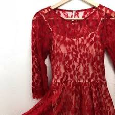 women u0027s free people floral mesh lace dress on poshmark