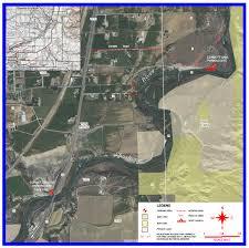 Wydot Map Shoshone River Corbett Dam Bridge Public Access Area
