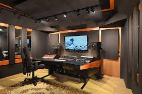 Small Recording Studio Desk Mixroom