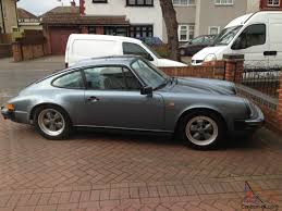porsche slate gray metallic porsche 911sc coupe 1983 model rare slate grey metallic
