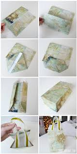 How To Make A Map Diy Vintage Map Christmas Gift Wrap And Gift Bags The Diy Mommy