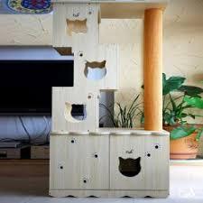Kitty Litter Bench Ritzy Designs Cat Furniture Litter Box Ideas Solution Cat