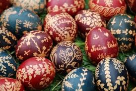 wax easter egg decorating easter in croatia croatia the war and the future