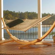 4 ply cypress roman arc 15 ft wood hammock stand on sale sar 2