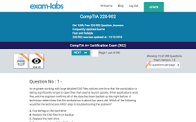 220 902 comptia real exam questions 100 free exam labs