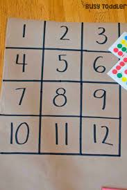 preschool math activity number boxes busy toddler
