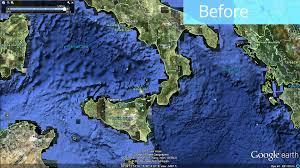 Ocean Depth Map Global Seafloor Update In Google Earth Youtube