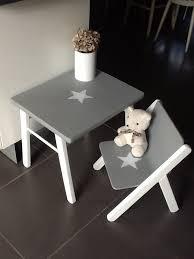 m bureau enfant ensemble table bureau et chaise vintage en bois cintré chambre d