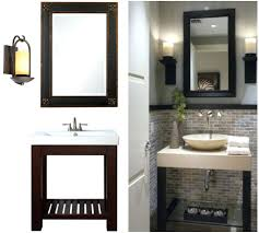 bathroom cabinets fancy mirrors bathroom small framed metal on