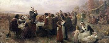 diskuz why is thanksgiving celebrated in america