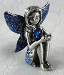 gorgeous leonardo collection birthstone fairies pewter 5cm