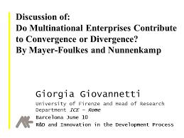 Universities As Multinational Enterprises The Multinational Discussion Of Do Multinational Enterprises Contribute To