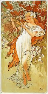 spring 1896 alphonse mucha wikiart org