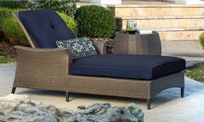 Outdoor Table Set by Gramercy Outdoor Chaise Lounge Chair And Table Set