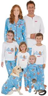 pajamas for the family with family collections