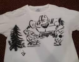 custom spray paint shirts spray paint etsy