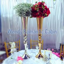 70cm Vase Compare Prices On Gold Flower Vase Online Shopping Buy Low Price