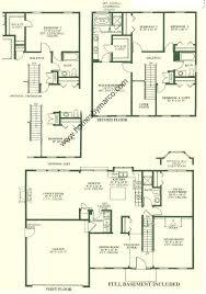 Barrington Floor Plan Barrington Ridge Subdivision In Aurora Illinois Homes For Sale