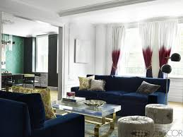 Curtain Design Ideas Decorating Living Room Inspirational Navy Blue Curtains For Living Room