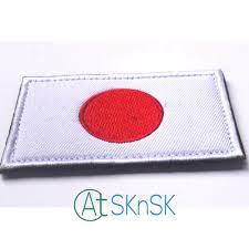 Flag Badges Embroidered Online Shop 2pcs Set Japanese Flag Embroidered Badge Military