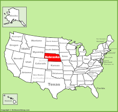 Time Zone Map Nebraska by Usa Map Nebraska My Blog