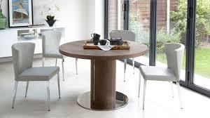Pedestal Bases For Dining Tables Walnut Extending Dining Table Pedestal Base Uk Intended For