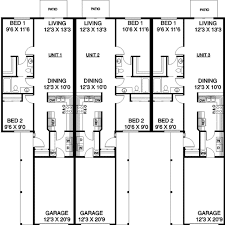 Multi Family Homes Floor Plans 34 Best Duplex Images On Pinterest Floor Plans Country Houses