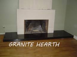 process of installation of granite hearth