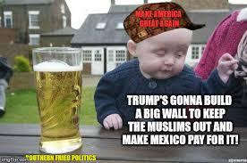 Big Baby Meme - drunk trump baby imgflip