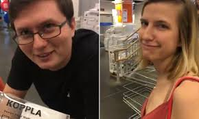 ikea puns man harasses his friends with dodgy ikea puns while shopping