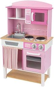 amazon cuisine enfant kidkraft wooden play kitchen home cookin kidkraft amazon co uk