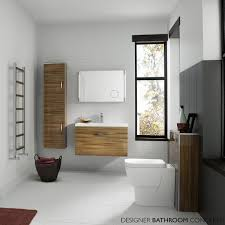 white high gloss bathroom cabinet freestanding unit 300x300mm high