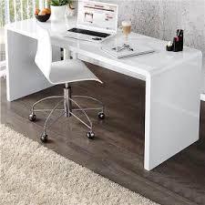 bureau laqué blanc brillant bureau laque blanc achat vente pas cher