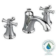 bathroom faucets home depot american standard portsmouth 8 in widespread 2 handle mid arc