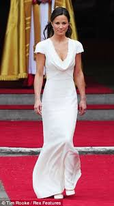 Dresses For Wedding Guests 2011 Pippa Middleton Asks Wedding Guests To Bring Two Daily