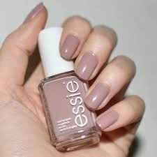 light brown nail polish ballet slippers pale pink sheer nail polish color lacquer essie